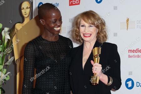 Stock Image of Birgit Minichmayr and Florence Kasumba
