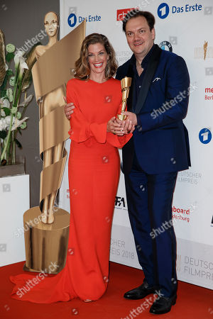 Editorial photo of 68th German Film Awards 2018 (LOLA) in Berlin, Germany - 27 Apr 2018