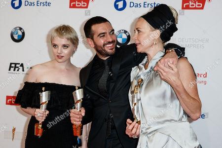 Jella Haase, Elyas M'Barek and Katja Riemann