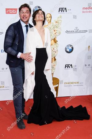 Ronald Zehrfeld and Christina Hecke