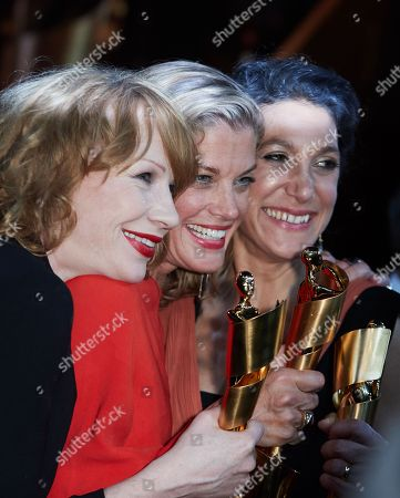Stock Image of Birgit Minichmayr, Marie Baeumer and Emily Atef