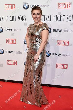Editorial picture of Bunte & BMW Festival Night,  68th Berlin Film Festival, Germany - 16 Feb 2018