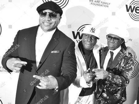 LL Cool J, Grandmaster Flash, Nile Rodgers