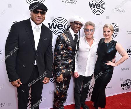 LL Cool J, Nile Rodgers, Roger Daltrey, Nancy Hunt