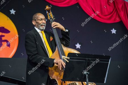 Ron Carter of the Ron Carter Trio performs at the New Orleans Jazz and Heritage Festival, in New Orleans