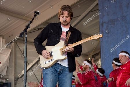 Sturgill Simpson performs at the New Orleans Jazz and Heritage Festival, in New Orleans