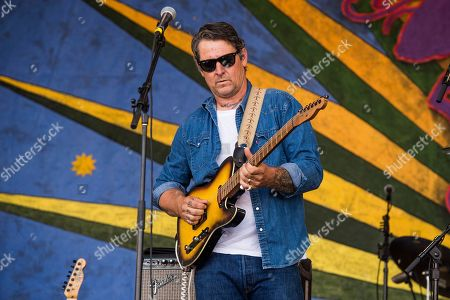 Eric Lindell performs at the New Orleans Jazz and Heritage Festival, in New Orleans