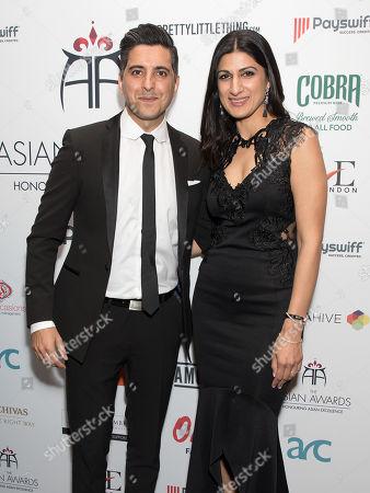 Manish Bhasin and Anushka Bhasin