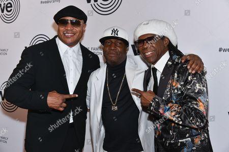 LL Cool J, Grandmaster Flash and Nile Rodgers