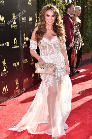 Editorial image of 45th Annual Daytime Creative Arts Emmy Awards, Arrivals, Los Angeles, USA - 27 Apr 2018