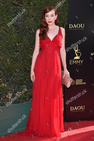 Editorial photo of 45th Annual Daytime Creative Arts Emmy Awards, Arrivals, Los Angeles, USA - 27 Apr 2018
