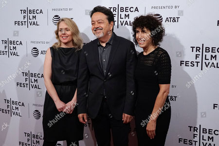 Tara Grace (SVP HBO Films'), Len Amato (President, HBO Films'), Jennifer Fox (Director/Writer/Producer)