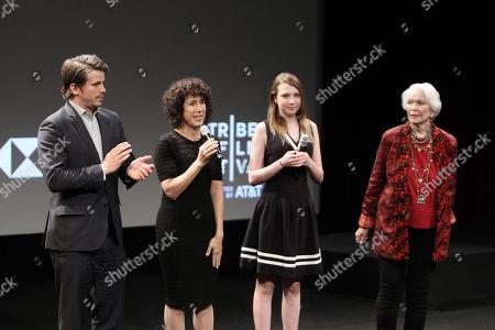 Jason Ritter, Jennifer Fox (Director/Writer/Producer), Isabelle Nelisse, Ellen Burstyn