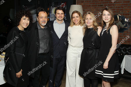 Jennifer Fox (Director/Writer/Producer), Len Amato (President HBO Films), Jason Ritter, Laura Rister (Producer), Tara Grace (SVP HBO Films), Isabelle Nelisse