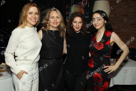 Stock Photo of Laura Rister (Producer), Tara Grace (SVP HBO Films), Simone Pero (Producer), Stefanie Diaz (Associate Producer)