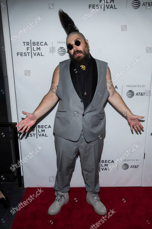 """Josh Ostrovsky attends the world premiere of """"The American Meme"""" at the 2018 Tribeca Film Festival, in New York"""