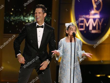David Osmond and Michela Luci
