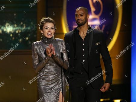 Victoria Konefal and Lamon Archey