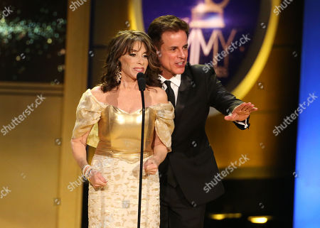 Kate Linder and Christian LeBlanc