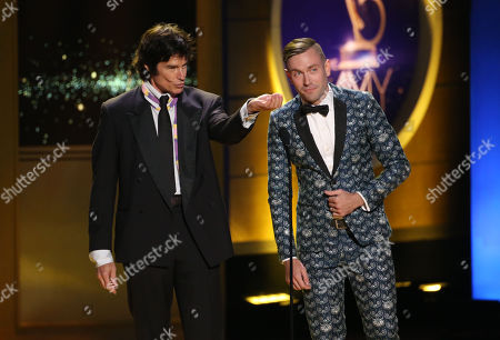 Ron Moss and Kit Williamson