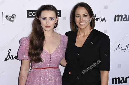 Katherine Langford, Anne Fulenwider. Katherine Langford, left, and Anne Fulenwider attend the 2018 Marie Claire's Fresh Faces Party at Poppy, in West Hollywood, Calif