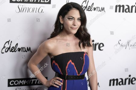 Inbar Lavi attends the 2018 Marie Claire's Fresh Faces Party at Poppy, in West Hollywood, Calif