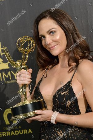 Editorial photo of 45th Annual Daytime Creative Arts Emmy Awards, Press Room, Los Angeles, USA - 27 Apr 2018