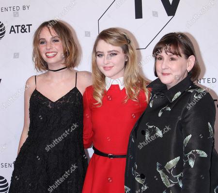 Kathryn Newton, Maya Thurman Hawke, Heidi Thomas