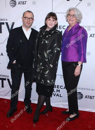Colin Callender, Heidi Thomas. Rebecca Eaton