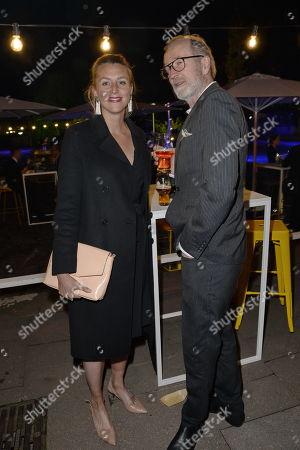 Peter Lohmeyer mit Freundin Leonie Seifert