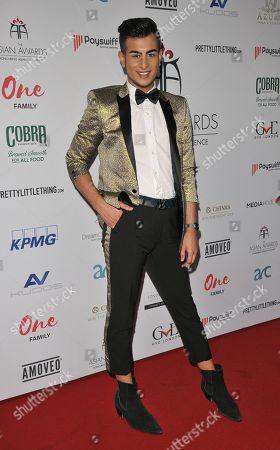 Editorial picture of The Asian Awards, London Hilton Hotel, Park Lane, London, UK - 27 Apr 2018