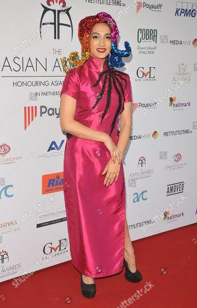 Editorial image of The Asian Awards, London Hilton Hotel, Park Lane, London, UK - 27 Apr 2018