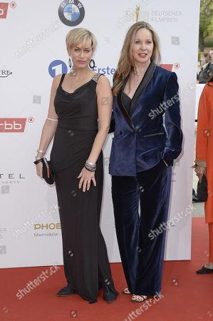 Stock Photo of Gesine Cukrowski und Ann-Kathrin Kramer