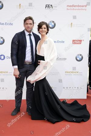 Ronald Zehrfeld und Christina Hecke