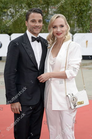Kostja Ullmann und Frau Janin Ullmann