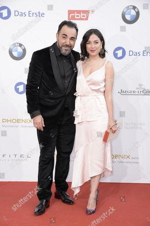 Stock Photo of Adnan Maral und Frau Franziska Maral