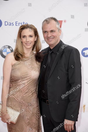 Stock Picture of Kristin Meyer und ihr Mann Patrick Winczewski
