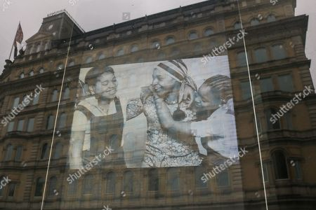 Editorial image of Winnie Mandela tributes, London, UK - 28 Apr 2018