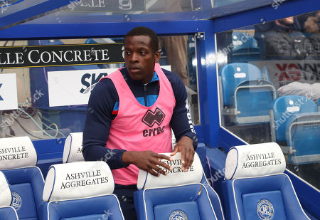 Nedum Onuoha of QPR starting on the bench of his last match for the club