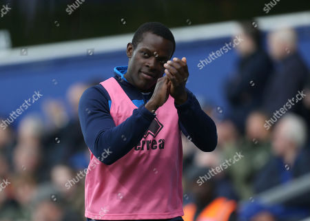Nedum Onuoha of QPR, applauds the fans as a substitute, during his last match for the club