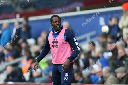 Nedum Onuoha of QPR, as a substitute, during his last match for the club