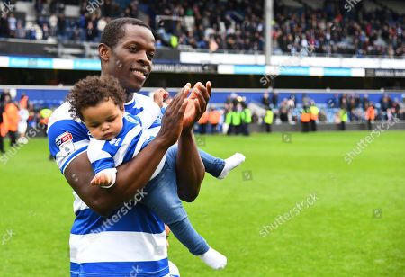Nedum Onuoha of QPR during the lap of honour