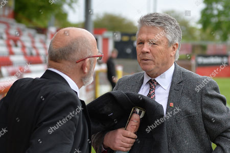 Steve Perryman during Stevenage vs Exeter City, Sky Bet EFL League 2 Football at the Lamex Stadium on 28th April 2018