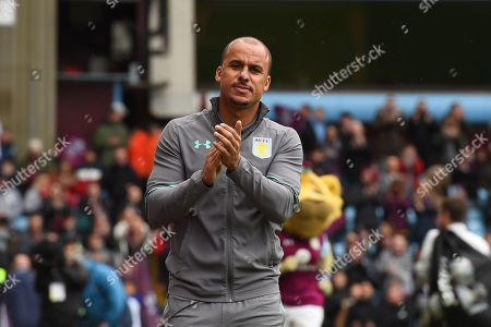 Aston Villa striker Gabriel Agbonlahor (11) makes his way to the pitch during the EFL Sky Bet Championship match between Aston Villa and Derby County at Villa Park, Birmingham. Picture by Jon Hobley