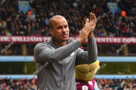 Aston Villa striker Gabriel Agbonlahor (11) during the EFL Sky Bet Championship match between Aston Villa and Derby County at Villa Park, Birmingham. Picture by Jon Hobley