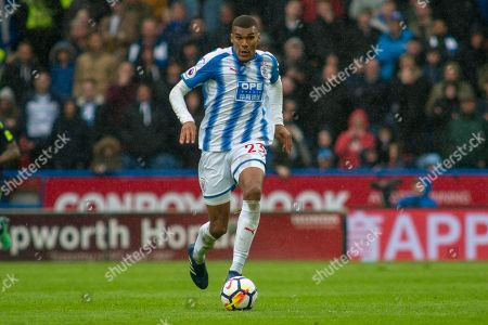 Huddersfield Town Forward Collin Quaner during the Premier League match between Huddersfield Town and Everton at the John Smiths Stadium, Huddersfield. Picture by Craig Zadoroznyj