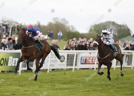 GREAT HALL and Charles Bishop Win The M.C.H. Hutchinson Memorial Handicap for trainer Mick Quinn in second David O'Meara's Grandee ridden by Philip Makin Ripon Racecourse