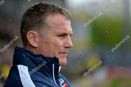 Bolton Wanderers manager Phil Parkinson during the EFL Sky Bet Championship match between Burton Albion and Bolton Wanderers at the Pirelli Stadium, Burton upon Trent. Picture by Richard Holmes