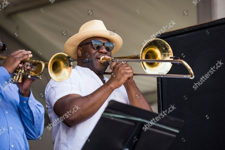 Editorial photo of 2018 Jazz and Heritage Festival - Weekend 1 - Day 2, New Orleans, USA - 28 Apr 2018