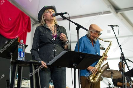 Lucinda Williams, Charles Lloyd. Lucinda Williams, left, and Charles Lloyd perform at the New Orleans Jazz and Heritage Festival, in New Orleans